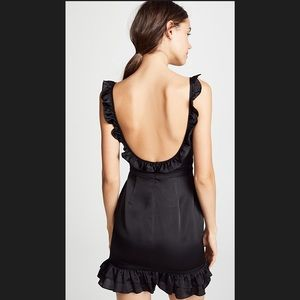 Fame and Partners The Cher Open Back Ruffle Dress